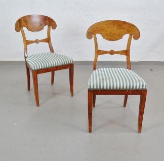 1 par stolar, Karl-Johan stil
