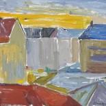 Oljemålning på pannå, Joyce Swanljung