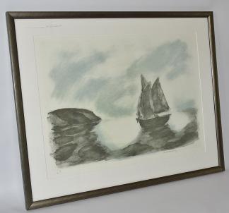 Litografi, Gustav Rudberg