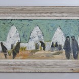 Oljemålning på pannå, Stig Thiderman