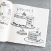Hemma - målarbok