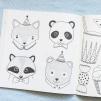 Kalasdjur - målarbok