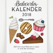 Bakverkskalender 2018 - färg