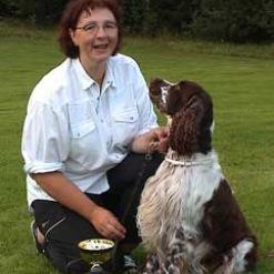 Klubbmästare i lydnad 2002 Anette & Wizard