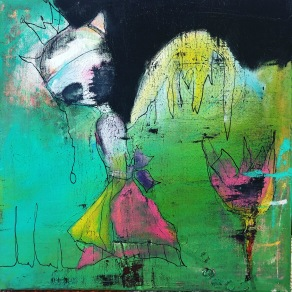 """Mystery of love"" - målning"