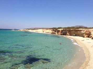 Alyko Beach, Naxos, Greece
