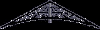 Gaveldekor Gaveltopp 004. Köp Snickarglädje och dekoration till verandan, farstukvisten, hela huset och villan. Måttanpassade konsoler, staket och räcken med snickarglädje. Du hittar gammaldags träräcke att köpa, trästaket med detaljer, mönster, ornament, dekoration för huset, snideri, träsnideri och snickarglädje med krusiduller och krumelurer till fastukvist och veranda samt dekor till taket och vindskivorna. Nockdekor och gavelornament. Dekoration till fönster och överliggare med dekorativt fönsterfoder. Prisvärt, svensktillverkat och snabb leverans.