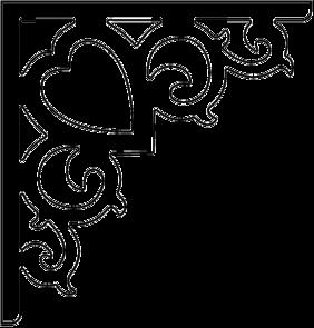 Gaveldekor konsol 002. Köp Snickarglädje och dekoration till verandan, farstukvisten, hela huset och villan. Måttanpassade konsoler, staket och räcken med snickarglädje. Du hittar gammaldags träräcke att köpa, trästaket med detaljer, mönster, ornament, dekoration för huset, snideri, träsnideri och snickarglädje med krusiduller och krumelurer till farstukvist och veranda samt dekor till taket och vindskivorna. Nockdekor och gavelornament. Dekoration till fönster och överliggare med dekorativt fönsterfoder. Prisvärt, svensktillverkat och snabb leverans.