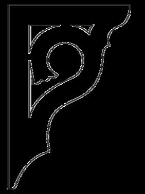 Gaveldekor konsol 004. Köp Snickarglädje och dekoration till verandan, farstukvisten, hela huset och villan. Måttanpassade konsoler, staket och räcken med snickarglädje. Du hittar gammaldags träräcke att köpa, trästaket med detaljer, mönster, ornament, dekoration för huset, snideri, träsnideri och snickarglädje med krusiduller och krumelurer till farstukvist och veranda samt dekor till taket och vindskivorna. Nockdekor och gavelornament. Dekoration till fönster och överliggare med dekorativt fönsterfoder. Prisvärt, svensktillverkat och snabb leverans.
