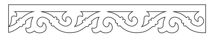 Gaveldekor Vindskiva 003 löpdekor. Köp Snickarglädje och dekoration till verandan, farstukvisten, hela huset och villan. Måttanpassade konsoler, staket och räcken med snickarglädje. Du hittar gammalda