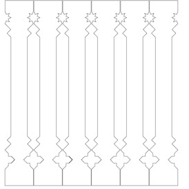 Decorative brackets for your porch or veranda from our standard dimensions or order your brackets with your specified dimensions. Brackets, Bracket, House Decoration, House Decorations, Balusters, Gable Decorations, Railings, Banisters, from Sweden, Swedish houses, Gaveldekor, Gingerbread, gingerbread-house - Räcke snickarglädje 006