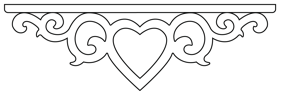 Decorative brackets for your porch or veranda from our standard dimensions or order your brackets with your specified dimensions. Brackets, Bracket, House Decoration, House Decorations, Balusters, Gable Decorations, Railings, Banisters, from Sweden, Swedish houses, Gaveldekor, Gingerbread, gingerbread-house - Gaveldekor MIttendekor 002