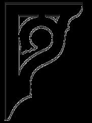 Zierornament 004. Hier können Sie traditionelle Zierornamente für ihre Giebel, Fenster und Terrassen kaufen. Schwedischer Stil, schwedische Häuser, Villen und Ferienhäuser. Bestellen Sie Ihr eigenes D