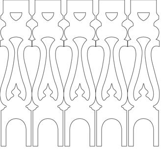 Geländerstäbe 001. Hier können Sie traditionelle Zierornamente für ihre Giebel, Fenster und Terrassen kaufen. Schwedischer Stil, schwedische Häuser, Villen und Ferienhäuser. Bestellen Sie Ihr eigenes Design und Größe oder wählen sie eines unserer Standardmodelle. Zierornamente für ihre Veranda und Terrasse, Geländer, Dächer, Windbretter, Giebel und Fenster. Scrollen Sie nach unten, und lassen Sie sich inspirieren! Wählen Sie dekorative Konsolen für Ihre Veranda aus unseren Standardmaßen aus oder bestellen Sie Ihre Konsolen mit Ihren eigenen Abmessungen. Hausdekoration, Giebelschmuck, Dachschmuck, Giebelgaubenschmuck, Dachgaubenschmuck, Gaubenschmuck, Hausschmuck, Konsolen, Geländerschmuck,Veranda, Stempel Veranda, Sägen Freunde, Holzfassade, Balkonbrüstung, Hausdekoration, Windscheibe dekor, decke dekor, Ende dekor, Schnitzereien, Holzmuster, vestibul, pergola, pavillon, orangeri, verschnörkelt, frills, sveitserstil, ornament, Schriftrollen. holzzäune, dachterrasse, zaun, reling, Holzgeländer,Hausdekoration, Giebelschmuck, Dachschmuck, Giebelgaubenschmuck, Dachgaubenschmuck, Gaubenschmuck, Hausschmuck, Konsolen, Geländerschmuck