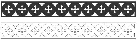 Fönsterdekor överliggare. Köp Snickarglädje och dekoration till verandan, farstukvisten, hela huset och villan. Måttanpassade konsoler och räcken med snickarglädje. Du hittar träräcke, trästaket med detaljer, mönster, ornamnent, dekoration för huset, snideri, träsnideri och snickarglädje med krusiduller och krumelurer till fastukvisten och verandan samt dekor till taket och vindskivorna. Nockdekor och gavelornament. Dekoration till fönster och överliggare med dekorativt fönsterfoder. Prisvärt, svensktillverkat och snabb leverans.