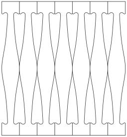 Räcke 018. Köp Snickarglädje och dekoration till verandan, farstukvisten, hela huset och villan. Måttanpassade konsoler och räcken med snickarglädje. Du hittar träräcke, trästaket med detaljer, mönster, ornamnent, dekoration för huset, snideri, träsnideri och snickarglädje med krusiduller och krumelurer till fastukvisten och verandan samt dekor till taket och vindskivorna. Nockdekor och gavelornament. Dekoration till fönster och överliggare med dekorativt fönsterfoder. Prisvärt, svensktillverkat och snabb leverans.