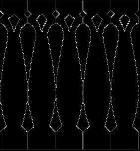 Gaveldekor Räcke snickarglädje 013. Köp Snickarglädje och dekoration till verandan, farstukvisten, hela huset och villan. Måttanpassade konsoler, staket och räcken med snickarglädje. Du hittar gammaldags träräcke, trästaket med detaljer, mönster, ornament, dekoration för huset, snideri, träsnideri och snickarglädje med krusiduller och krumelurer till fastukvisten och verandan samt dekor till taket och vindskivorna. Nockdekor och gavelornament. Dekoration till fönster och överliggare med dekorativt fönsterfoder. Prisvärt, svensktillverkat och snabb leverans.