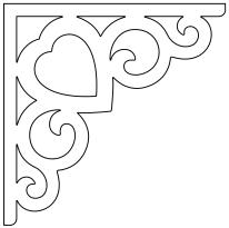 snickarglädje till ditt hus, här konsol 002 från gaveldekor. Köp Snickarglädje och dekoration till verandan, farstukvisten, hela huset och villan. Måttanpassade konsoler, staket och räcken med snickarglädje. Du hittar gammaldags träräcke, trästaket med detaljer, mönster, ornament, dekoration för huset, snideri, träsnideri och snickarglädje med krusiduller och krumelurer till fastukvist och veranda samt dekor till taket och vindskivorna. Nockdekor och gavelornament. Dekoration till fönster och överliggare med dekorativt fönsterfoder. Prisvärt, svensktillverkat och snabb leverans.