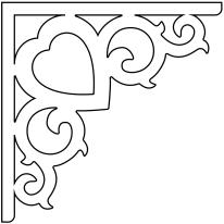 Snickarglädje, Snickerier, till ditt hus, här konsol 002 från gaveldekor. Köp Snickarglädje och dekoration till verandan, farstukvisten, hela huset och villan. Måttanpassade konsoler, staket och räcken med snickarglädje. Du hittar gammaldags träräcke, trästaket med detaljer, mönster, ornament, dekoration för huset, snideri, träsnideri och snickarglädje med krusiduller och krumelurer till fastukvist och veranda samt dekor till taket och vindskivorna. Nockdekor och gavelornament. Dekoration till fönster och överliggare med dekorativt fönsterfoder. Prisvärt, svensktillverkat och snabb leverans.