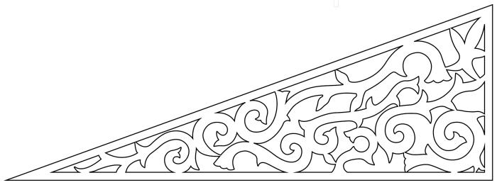 Fyllnadsdekor 030,Snickarglädje och dekoration till verandan, farstukvisten, hela huset och villan. Måttanpassade konsoler, staket och räcken med snickarglädje. Du hittar gammaldags träräcke att köpa, trästaket med detaljer, mönster, ornament, dekoration för huset, snideri, snirklar, träsnideri och snickarglädje med krusiduller och krumelurer till farstukvist, glasveranda, orangeri, lusthus, uterum, pergola, veranda samt dekor till taket och vindskivorna. Nockdekor och gavelornament. Köp dekoration till fönster och överliggare med dekorativt fönsterfoder. Prisvärt, svensktillverkat och snabb leverans online. Snickarglädje, träräcke, räcke, altanräcke, staket, altanstaket, trästaket, dekor, träsnideri, snideri, snirklar, konsoler, konsol, ornament, Schweizerstil, sveitserstil, krusiduller, krumelurer, veranda, orangeri, lusthus, pergola, farstukvist, förstukvist, trämönster, sniderier, gaveldekor, takdekor, vindskivedekor, taknock, husdekoration, balkongräcke, fräfasad, lövsågeri, glädjesågning, sekelskifte, dalahus, hälsingestil, hälsingehus, punchveranda, glasveranda. nyrenässans, trädekoration, stick style, taknock