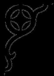 Zierornament 008B. Hier können Sie traditionelle Zierornamente für ihre Giebel, Fenster und Terrassen kaufen. Schwedischer Stil, schwedische Häuser, Villen und Ferienhäuser. Bestellen Sie Ihr eigenes