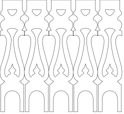 001, Geländerstäbe 001. Hier können Sie traditionelle Zierornamente für ihre Giebel, Fenster und Terrassen kaufen. Schwedischer Stil, schwedische Häuser, Villen und Ferienhäuser. Bestellen Sie Ihr eigenes Design und Größe oder wählen sie eines unserer Standardmodelle. Zierornamente für ihre Veranda und Terrasse, Geländer, Dächer, Windbretter, Giebel und Fenster. Scrollen Sie nach unten, und lassen Sie sich inspirieren! Wählen Sie dekorative Konsolen für Ihre Veranda aus unseren Standardmaßen aus oder bestellen Sie Ihre Konsolen mit Ihren eigenen Abmessungen. Hausdekoration, Giebelschmuck, Dachschmuck, Giebelgaubenschmuck, Dachgaubenschmuck, Gaubenschmuck, Hausschmuck, Konsolen, Geländerschmuck,Veranda, Stempel Veranda, Sägen Freunde, Holzfassade, Balkonbrüstung, Hausdekoration, Windscheibe dekor, decke dekor, Ende dekor, Schnitzereien, Holzmuster, vestibul, pergola, pavillon, orangeri, verschnörkelt, frills, sveitserstil, ornament, Schriftrollen. holzzäune, dachterrasse, zaun, reling, Holzgeländer,Hausdekoration, Giebelschmuck, Dachschmuck, Giebelgaubenschmuck, Dachgaubenschmuck, Gaubenschmuck, Hausschmuck, Konsolen, Geländerschmuck