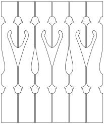Geländerstäbe 006. Hier können Sie traditionelle Zierornamente für ihre Giebel, Fenster und Terrassen kaufen. Schwedischer Stil, schwedische Häuser, Villen und Ferienhäuser. Bestellen Sie Ihr eigenes Design und Größe oder wählen sie eines unserer Standardmodelle. Zierornamente für ihre Veranda und Terrasse, Geländer, Dächer, Windbretter, Giebel und Fenster. Scrollen Sie nach unten, und lassen Sie sich inspirieren! Wählen Sie dekorative Konsolen für Ihre Veranda aus unseren Standardmaßen aus oder bestellen Sie Ihre Konsolen mit Ihren eigenen Abmessungen. Hausdekoration, Giebelschmuck, Dachschmuck, Giebelgaubenschmuck, Dachgaubenschmuck, Gaubenschmuck, Hausschmuck, Konsolen, Geländerschmuck,Veranda, Stempel Veranda, Sägen Freunde, Holzfassade, Balkonbrüstung, Hausdekoration, Windscheibe dekor, decke dekor, Ende dekor, Schnitzereien, Holzmuster, vestibul, pergola, pavillon, orangeri, verschnörkelt, frills, sveitserstil, ornament, Schriftrollen. holzzäune, dachterrasse, zaun, reling, Holzgeländer,Hausdekoration, Giebelschmuck, Dachschmuck, Giebelgaubenschmuck, Dachgaubenschmuck, Gaubenschmuck, Hausschmuck, Konsolen, Geländerschmuck