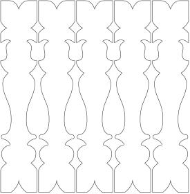 Geländerstäbe 041. Hier können Sie traditionelle Zierornamente für ihre Giebel, Fenster und Terrassen kaufen. Schwedischer Stil, schwedische Häuser, Villen und Ferienhäuser. Bestellen Sie Ihr eigenes Design und Größe oder wählen sie eines unserer Standardmodelle. Zierornamente für ihre Veranda und Terrasse, Geländer, Dächer, Windbretter, Giebel und Fenster. Scrollen Sie nach unten, und lassen Sie sich inspirieren! Wählen Sie dekorative Konsolen für Ihre Veranda aus unseren Standardmaßen aus oder bestellen Sie Ihre Konsolen mit Ihren eigenen Abmessungen. Hausdekoration, Giebelschmuck, Dachschmuck, Giebelgaubenschmuck, Dachgaubenschmuck, Gaubenschmuck, Hausschmuck, Konsolen, Geländerschmuck,Veranda, Stempel Veranda, Sägen Freunde, Holzfassade, Balkonbrüstung, Hausdekoration, Windscheibe dekor, decke dekor, Ende dekor, Schnitzereien, Holzmuster, vestibul, pergola, pavillon, orangeri, verschnörkelt, frills, sveitserstil, ornament, Schriftrollen. holzzäune, dachterrasse, zaun, reling, Holzgeländer,Hausdekoration, Giebelschmuck, Dachschmuck, Giebelgaubenschmuck, Dachgaubenschmuck, Gaubenschmuck, Hausschmuck, Konsolen, Geländerschmuck