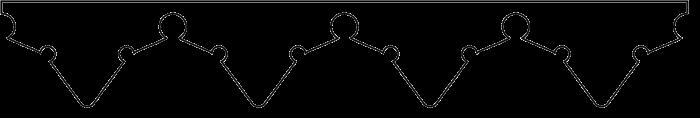 Windbrett 010. Hier können Sie traditionelle Zierornamente für ihre Giebel, Fenster und Terrassen kaufen. Schwedischer Stil, schwedische Häuser, Villen und Ferienhäuser. Bestellen Sie Ihr eigenes Desi