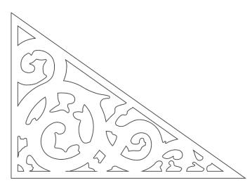 Giebelschmuck 102. Hier können Sie traditionelle Zierornamente für ihre Giebel, Fenster und Terrassen kaufen. Schwedischer Stil, schwedische Häuser, Villen und Ferienhäuser. Bestellen Sie Ihr eigenes Design und Größe oder wählen sie eines unserer Standardmodelle. Zierornamente für ihre Veranda und Terrasse, Geländer, Dächer, Windbretter, Giebel und Fenster. Scrollen Sie nach unten, und lassen Sie sich inspirieren! Wählen Sie dekorative Konsolen für Ihre Veranda aus unseren Standardmaßen aus oder bestellen Sie Ihre Konsolen mit Ihren eigenen Abmessungen. Hausdekoration, Giebelschmuck, Dachschmuck, Giebelgaubenschmuck, Dachgaubenschmuck, Gaubenschmuck, Hausschmuck, Konsolen, Geländerschmuck,Veranda, Stempel Veranda, Sägen Freunde, Holzfassade, Balkonbrüstung, Hausdekoration, Windscheibe dekor, decke dekor, Ende dekor, Schnitzereien, Holzmuster, vestibul, pergola, pavillon, orangeri, verschnörkelt, frills, sveitserstil, ornament, Schriftrollen. holzzäune, dachterrasse, zaun, reling, Holzgeländer,Hausdekoration, Giebelschmuck, Dachschmuck, Giebelgaubenschmuck, Dachgaubenschmuck, Gaubenschmuck, Hausschmuck, Konsolen, Geländerschmuck