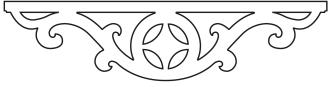Mittdekor 008. Köp Snickarglädje och dekoration till verandan, farstukvisten, hela huset och villan. Måttanpassade konsoler, staket och räcken med snickarglädje. Du hittar gammaldags träräcke att köpa, trästaket med detaljer, mönster, ornament, dekoration för huset, snideri, träsnideri och snickarglädje med krusiduller och krumelurer till farstukvist och veranda samt dekor till taket och vindskivorna. Nockdekor och gavelornament. Dekoration till fönster och överliggare med dekorativt fönsterfoder. Prisvärt, svensktillverkat och snabb leverans.