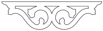 Mittdekor 007. Köp Snickarglädje och dekoration till verandan, farstukvisten, hela huset och villan. Måttanpassade konsoler, staket och räcken med snickarglädje. Du hittar gammaldags träräcke att köpa, trästaket med detaljer, mönster, ornament, dekoration för huset, snideri, träsnideri och snickarglädje med krusiduller och krumelurer till farstukvist och veranda samt dekor till taket och vindskivorna. Nockdekor och gavelornament. Dekoration till fönster och överliggare med dekorativt fönsterfoder. Prisvärt, svensktillverkat och snabb leverans.