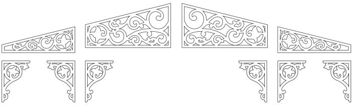Giebelschmuck 191 Hier können Sie traditionelle Zierornamente für ihre Giebel, Fenster und Terrassen kaufen. Schwedischer Stil, schwedische Häuser, Villen und Ferienhäuser. Bestellen Sie Ihr eigenes Design und Größe oder wählen sie eines unserer Standardmodelle. Zierornamente für ihre Veranda und Terrasse, Geländer, Dächer, Windbretter, Giebel und Fenster. Scrollen Sie nach unten, und lassen Sie sich inspirieren! Wählen Sie dekorative Konsolen für Ihre Veranda aus unseren Standardmaßen aus oder bestellen Sie Ihre Konsolen mit Ihren eigenen Abmessungen. Hausdekoration, Giebelschmuck, Dachschmuck, Giebelgaubenschmuck, Dachgaubenschmuck, Gaubenschmuck, Hausschmuck, Konsolen, Geländerschmuck,Veranda, Stempel Veranda, Sägen Freunde, Holzfassade, Balkonbrüstung, Hausdekoration, Windscheibe dekor, decke dekor, Ende dekor, Schnitzereien, Holzmuster, vestibul, pergola, pavillon, orangeri, verschnörkelt, frills, sveitserstil, ornament, Schriftrollen. holzzäune, dachterrasse, zaun, reling, Holzgeländer,Hausdekoration, Giebelschmuck, Dachschmuck, Giebelgaubenschmuck, Dachgaubenschmuck, Gaubenschmuck, Hausschmuck, Konsolen, Geländerschmuck