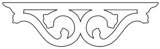 007 Mittel-Zierornament. Hier können Sie traditionelle Zierornamente für ihre Giebel, Fenster und Terrassen kaufen. Schwedischer Stil, schwedische Häuser, Villen und Ferienhäuser. Bestellen Sie Ihr eigenes Design und Größe oder wählen sie eines unserer Standardmodelle. Zierornamente für ihre Veranda und Terrasse, Geländer, Dächer, Windbretter, Giebel und Fenster. Scrollen Sie nach unten, und lassen Sie sich inspirieren! Wählen Sie dekorative Konsolen für Ihre Veranda aus unseren Standardmaßen aus oder bestellen Sie Ihre Konsolen mit Ihren eigenen Abmessungen. Hausdekoration, Giebelschmuck, Dachschmuck, Giebelgaubenschmuck, Dachgaubenschmuck, Gaubenschmuck, Hausschmuck, Konsolen, Geländerschmuck,Veranda, Stempel Veranda, Sägen Freunde, Holzfassade, Balkonbrüstung, Hausdekoration, Windscheibe dekor, decke dekor, Ende dekor, Schnitzereien, Holzmuster, vestibul, pergola, pavillon, orangeri, verschnörkelt, frills, sveitserstil, ornament, Schriftrollen. holzzäune, dachterrasse, zaun, reling, Holzgeländer,Hausdekoration, Giebelschmuck, Dachschmuck, Giebelgaubenschmuck, Dachgaubenschmuck, Gaubenschmuck, Hausschmuck, Konsolen, Geländerschmuck, Gaveldekor