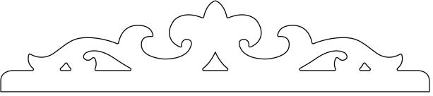 snickarglädje som förnsterdekor hos gaveldekor