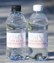 Vattenflaska - Rent vatten