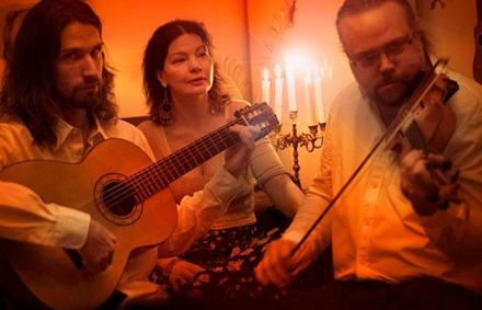 Emil, Marita och Jonas.