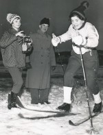 Anna Lindmark på skidorna