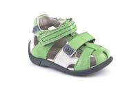 Froddo Isak Lära-gå-sandal - Grön/Vit G2150051-3 (Stl. 18-20)