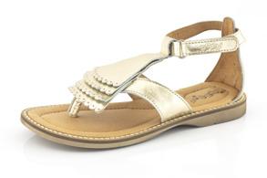 Sandal Barn Francesca - Guld (Stl. 34) - Storlek 34 - fot=20 cm (Sula 21,5cm)