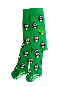 Ho-Ho! Ekologiska barnstrumpbyxor med halkskydd - Ho-ho 56/68cl (0-6 mån)