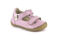 Skinn sandaler Ljusrosa