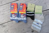 Barnstrumpor 4st/paket Stl.20-23 Olika paket