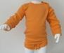 Body 3-pack långärmade - Larver/Orange/Klarblå