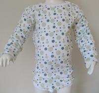 Klädpaket - Byxor, Bodys Kort+Långärm Gröna bubblor