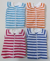 Babypyjamas Zipper - 2-pack Randiga Vita 50cl