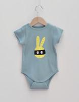 Body baby - Maskerad kanin ljusblå 86cl