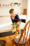 Puzzel! Barnstrumpbyxor med halkskydd 0-4år