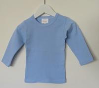 Långärmad tröja - Ljusblå