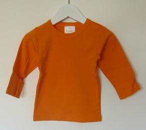 Långärmad tröja - Orange - Stl. 70 Långärmad tröja orange